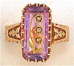 Why do we broker some jewelry? 1860'sRing